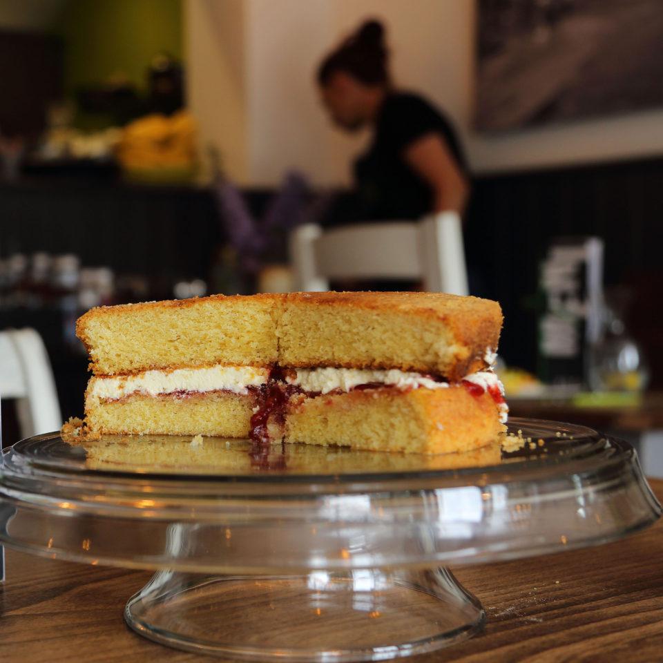 Natter cafe cake