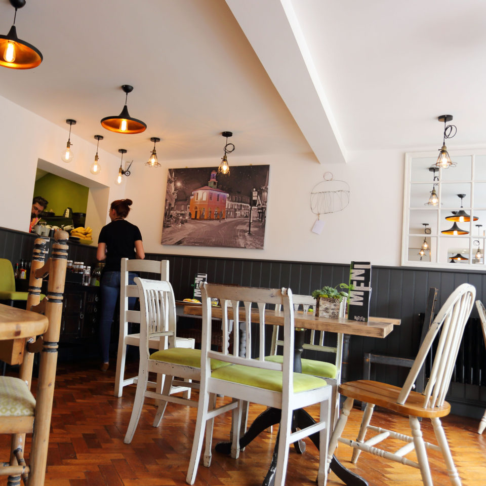 Inside Natter Cafe Farncombe Godalming